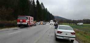 Един загинал и седем ранени при нова тежка катастрофа в Ловешко (ВИДЕО+СНИМКИ)