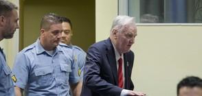 "Доживотен затвор за ""Касапина от Босна"" Ратко Младич"