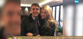 Деси Банова и Росен Плевнелиев - щастливи в Атина (ВИДЕО+СНИМКА)