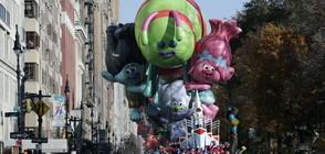 Гигантски балони на парада за Деня на благодарността в Ню Йорк (СНИМКИ)