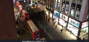 Евакуираха станция на метрото в Лондон (ВИДЕО+СНИМКИ)