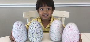 6-годишно момченце спечели 11 млн. долара за година (ВИДЕО)