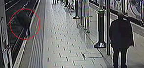 ШОКИРАЩИ КАДРИ: Хора падат върху влакови релси (ВИДЕО)