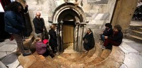 Латинският патриарх даде начало на тържествата във Витлеем