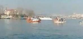 Хвърлянето на богоявленския кръст в Истанбул (ВИДЕО)