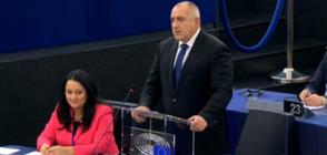 Борисов пред ЕП: България има 4 приоритета за европредседателството (ВИДЕО+СНИМКИ)