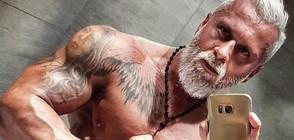 35-годишен бодибилдър харчи хиляди, за да изглежда като пенсионер (ГАЛЕРИЯ)