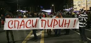 В СТРАНАТА И ЧУЖБИНА: Протести против строителство и сеч в Пирин (ВИДЕО+СНИМКИ)