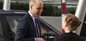 Принц Уилям се подстрига много късо (СНИМКИ)