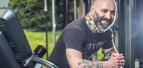 ОПИТ ЗА РЕКОРД: Българин бяга 36 часа с благотворителна цел (ВИДЕО)