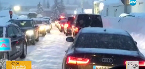 Невиждан сняг засипа икономическия форум в Давос (ВИДЕО)