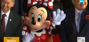 Мини Маус получи звезда на Алеята на славата (ВИДЕО)
