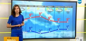 Прогноза за времето (15.02.2018 - сутрешна)