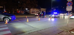 Джип блъсна колоездач на пешеходна пътека в Благоевград (СНИМКИ)