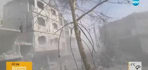 БОМБАНДИРОВКА В СИРИЯ: 80 цивилни са убити близо до Дамаск