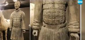Американец открадна пръст от статуя на 2000 години (ВИДЕО)