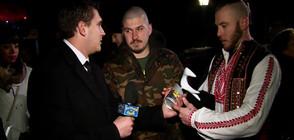 Бяла лястовица отлетя за факелното шествие в памет на Левски в Ловеч