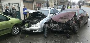 18-годишен предизвика зрелищна катастрофа в Казанлък (СНИМКИ)