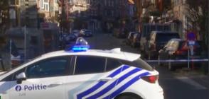 Спецакция срещу въоръжени престъпници блокира район на Брюксел (СНИМКИ)