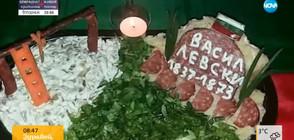 ПАТРИОТИЗЪМ НА МАСАТА: Кулинар направи салата, посветена на Левски