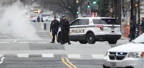 Кола се блъсна в бариерата на Белия дом (ВИДЕО+СНИМКИ)
