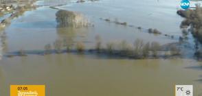 БЕДСТВЕНО ПОЛОЖЕНИЕ В БРЕГОВО: Река Тимок излезе от коритото си