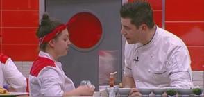 Шеф Ангелов поставя участниците в Hell's Kitchen на трудно изпитание за отлична координация