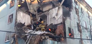 Един загинал при мощна експлозия в жилищна сграда в Мурманск (ВИДЕО)