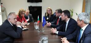 Борисов се срещна с шефа на Европейската конфедерация на профсъюзите