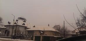 Жълтеникав сняг валя в Североизточна България (ВИДЕО+СНИМКИ)