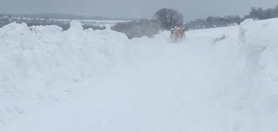 Две села във Варненско са откъснати от света заради снега