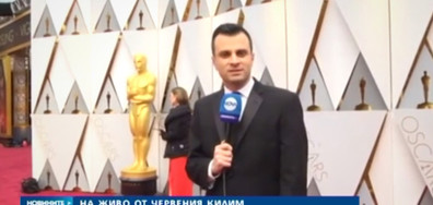 """ЕКСКЛУЗИВНО: NOVA от червения килим на """"Оскарите"""""""