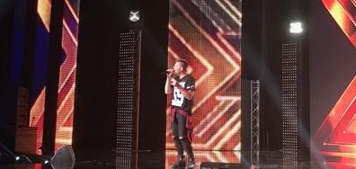 Кандидат от Македония изправи на крака публиката на X Factor с първото си представяне пред жури