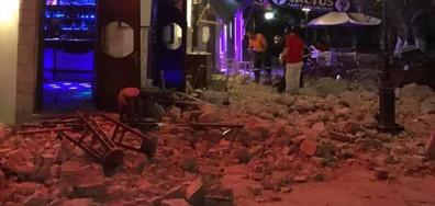 Трус от 6,7 по Рихтер удари Гърция и Турция, има жертви (ВИДЕО+СНИМКИ)