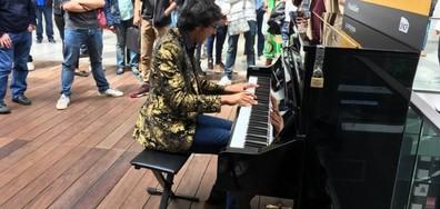 САМО ПО NOVA: Прочулият се в музикално шоу във Франция българин (ВИДЕО+СНИМКИ)