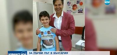 Върнаха зрението на дете с присаждане на изкуствен ирис (видео)