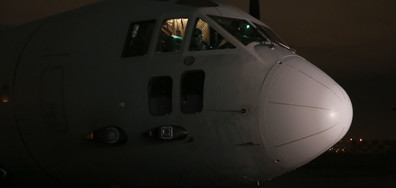 """Единственият летящ """"Спартан"""" на българските ВВС се удари"""