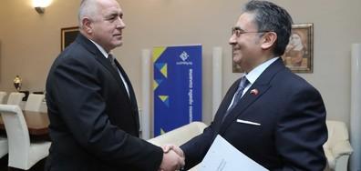 Борисов и посланикът на Турция: Диалогът с ЕС трябва да бъде нормализиран