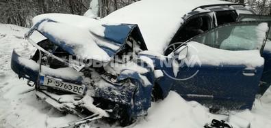 Автобус, тир и две коли се блъснаха на пътя Бяла - Русе (ВИДЕО+СНИМКИ)