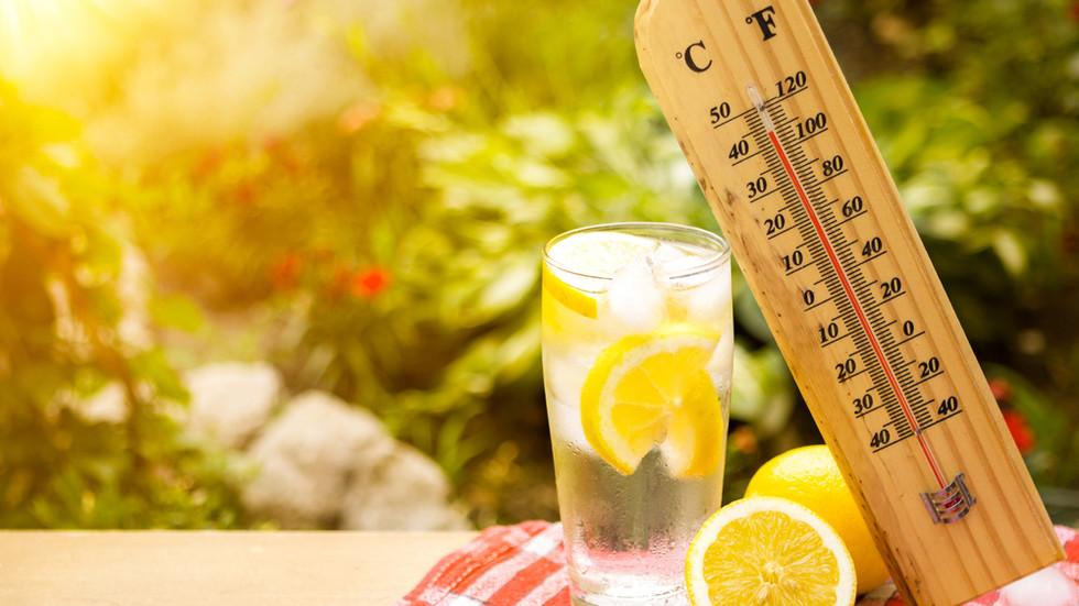 Опасно високи температури в цялата страна