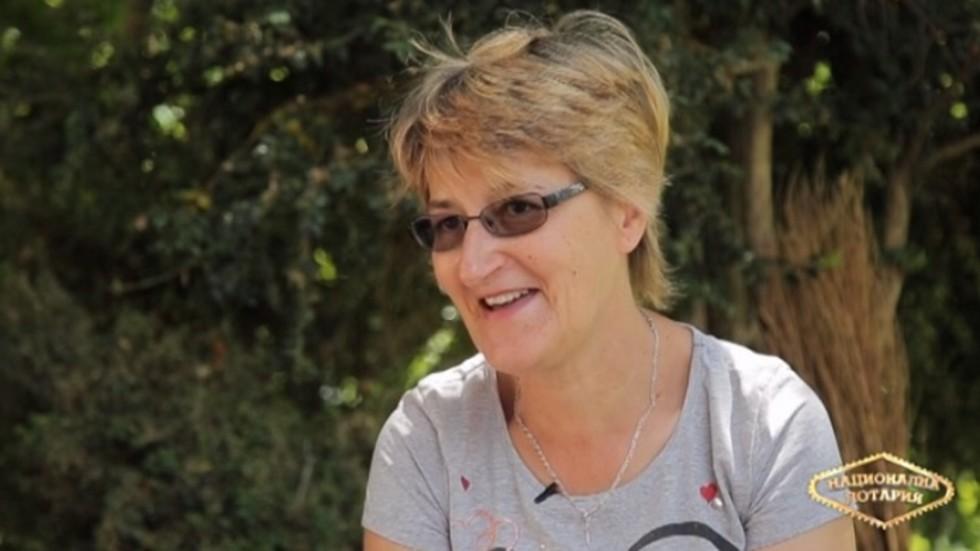 Красимира Димитрова: Национална лотария ми донесе щастие