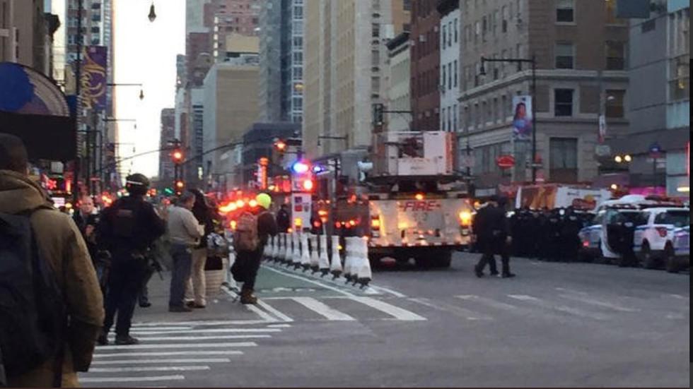 Експлозия в Манхатън (ВИДЕО+СНИМКИ)