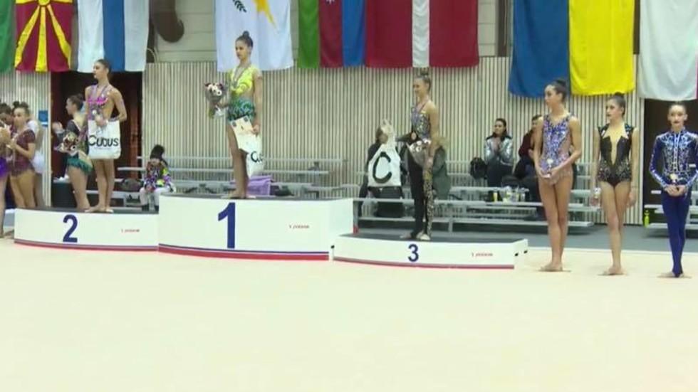 Снимка: Facebook/Българска федерация художествена гимнастика