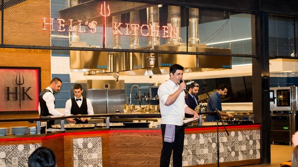 Представители на медиите видяха първи ресторанта на Hell's Kitchen България