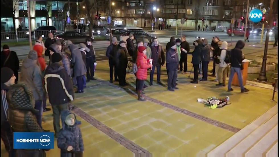 Десетки поискаха паметна плоча на Пламен Горанов