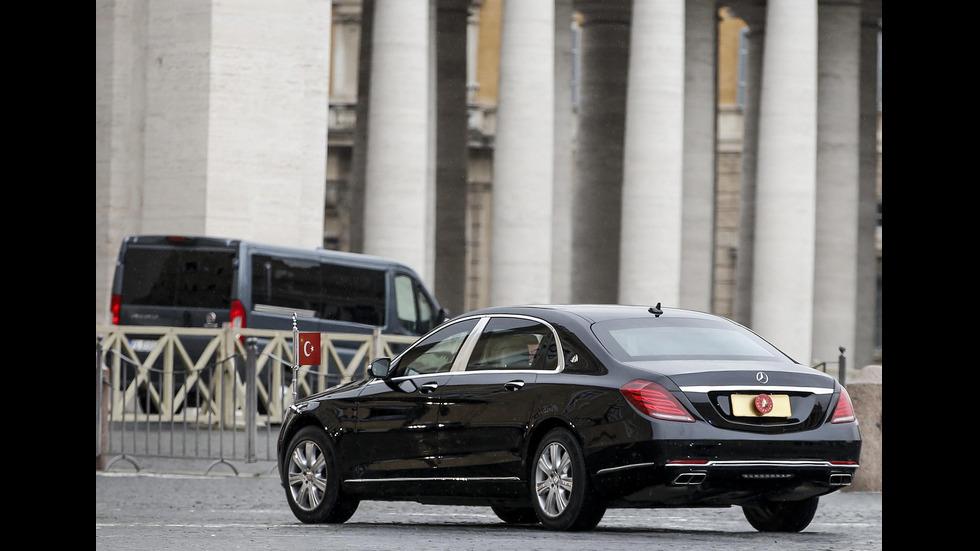 Ердоган се срещна с папата