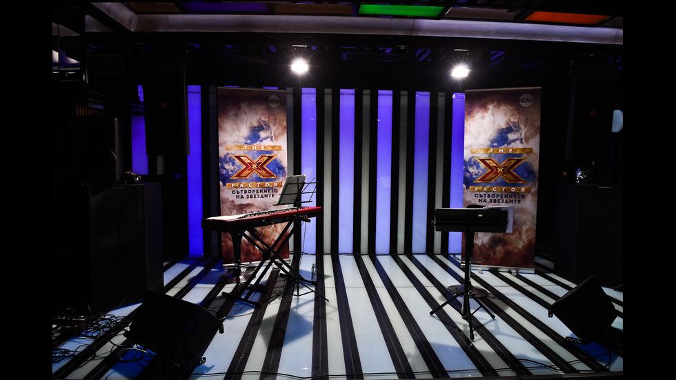 Среща с финалистите в X Factor дни преди големите концерти