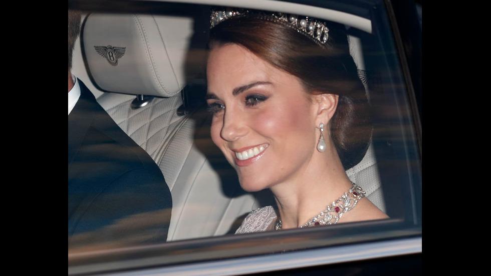 Кейт сложи тиарата на Даяна и бижутата на Елизабет