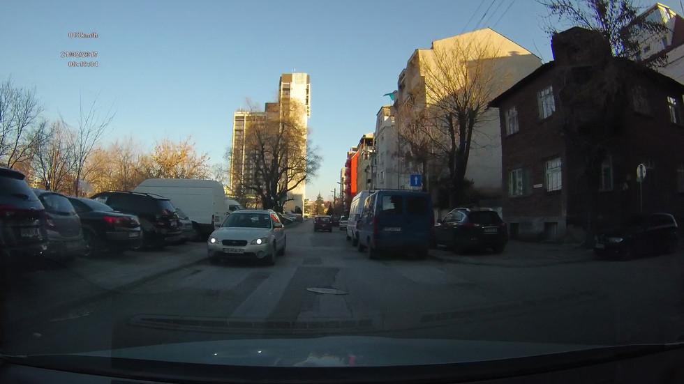 Движение в насрещното в Пловдив