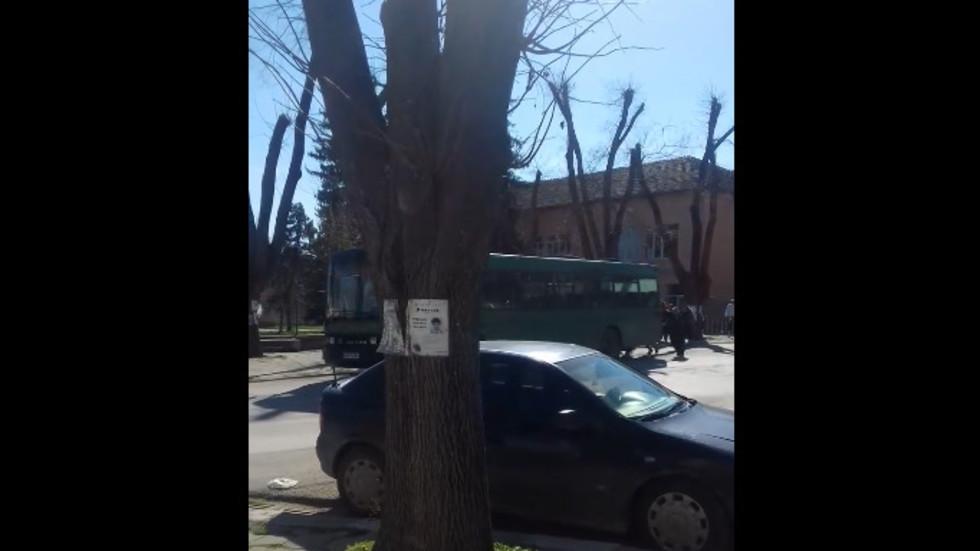 Летящият автобус от Долни Дъбник отново с проблем